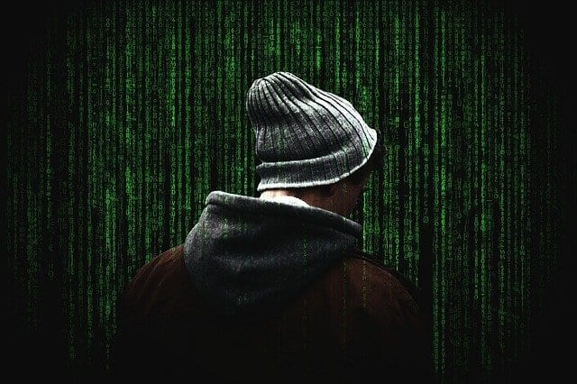 man and cyber crime