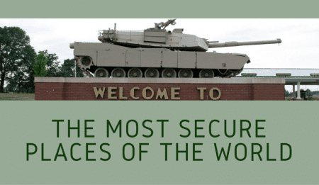 The most secure places of the world